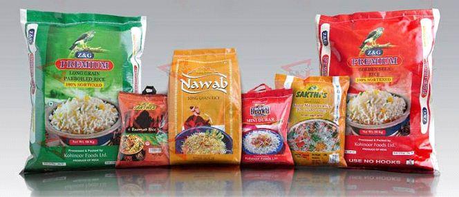 BOPP Laminated Printed Bags