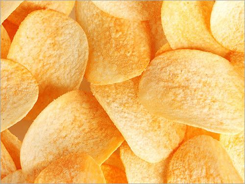 Dried Potato Chips