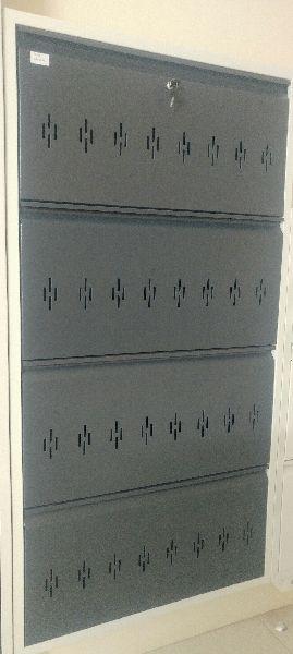Wall Mounted Shoe Rack 4 Door