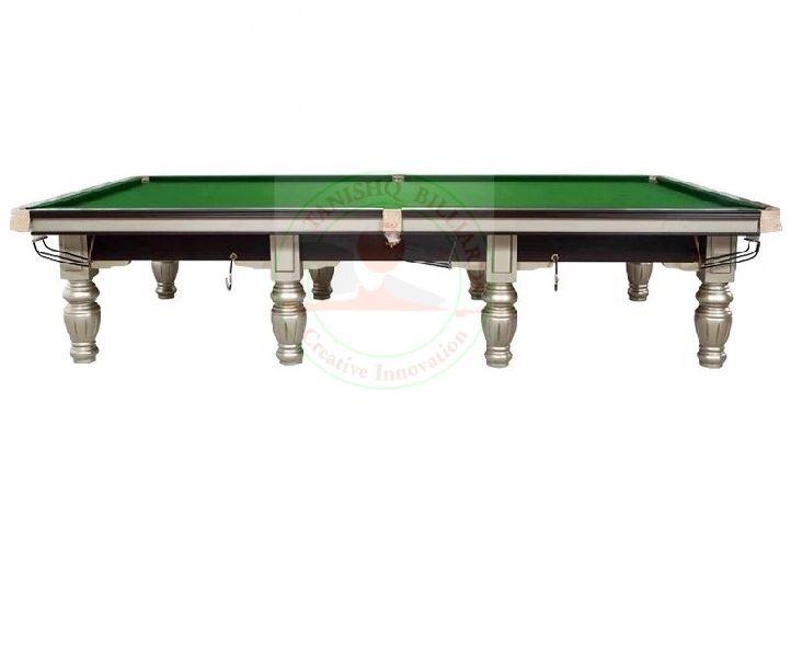 Steel Cushions Billiards Table