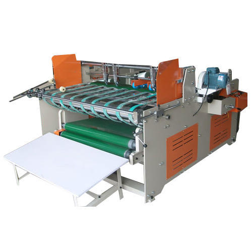 Semi Automatic Gluer Machine