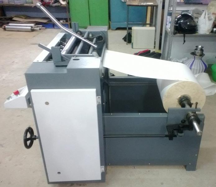 Semi Automatic Slitting Machine