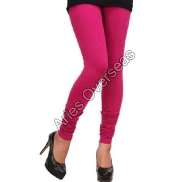 Plain Pink Leggings