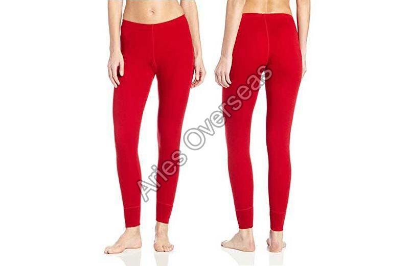 Plain Red Leggings
