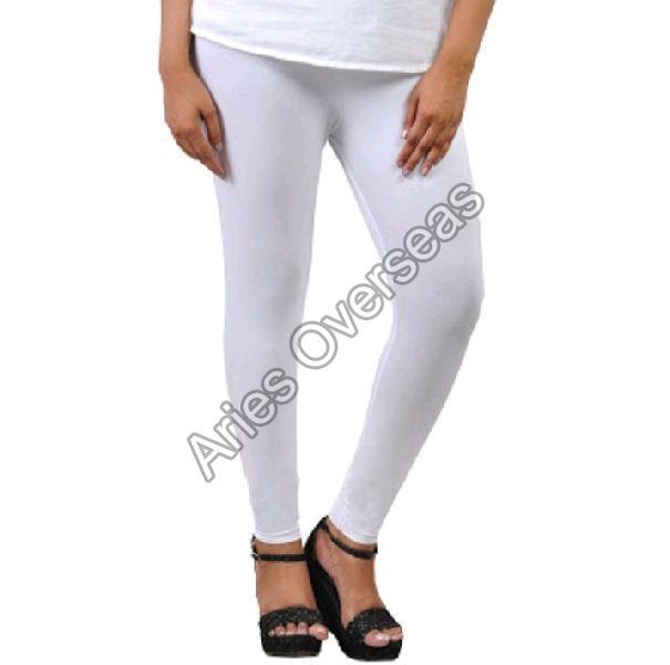 Plain White Leggings