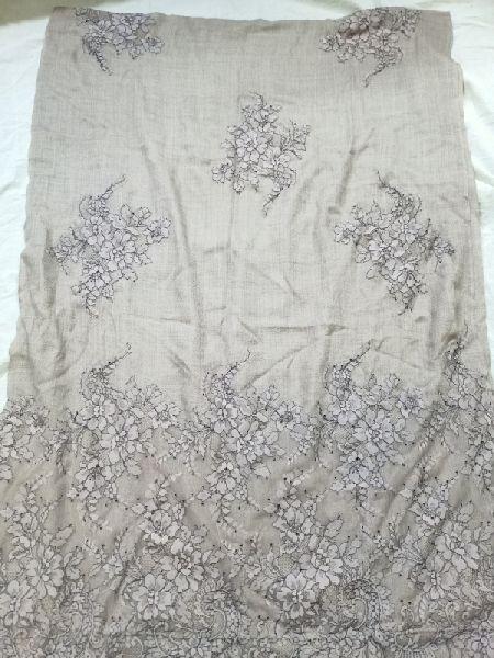 Fine Wool Lace Stole 01
