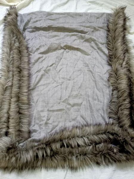 Fine Wool Fox Stole