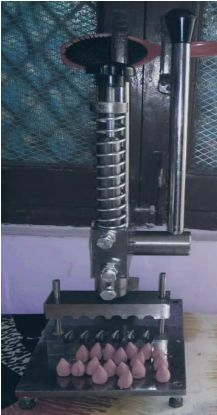Manual Dry Dhoop Making Machine