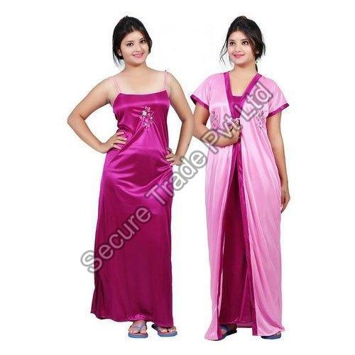 Silk Night Dress