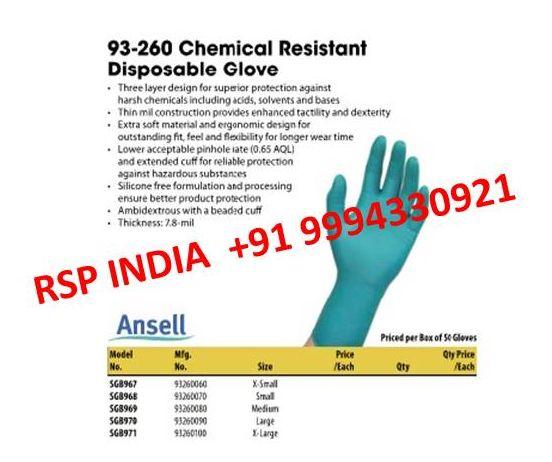 93-260 Chemical Resistant Gloves