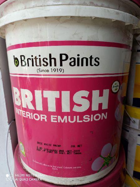 British Interior Emulsion