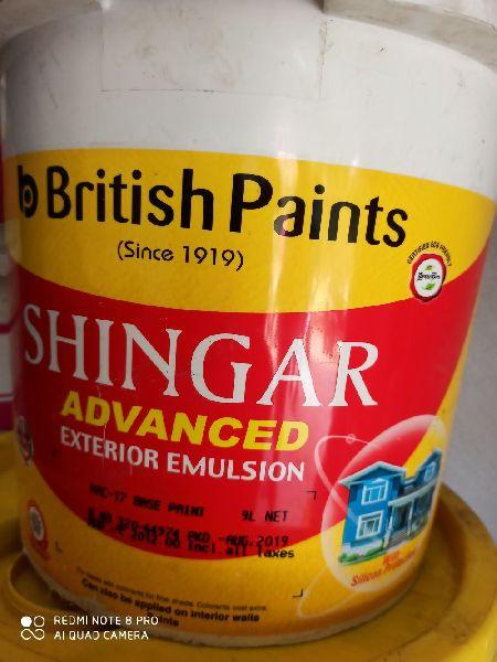 British Paints Shingar Advanced Exterior Emulsion