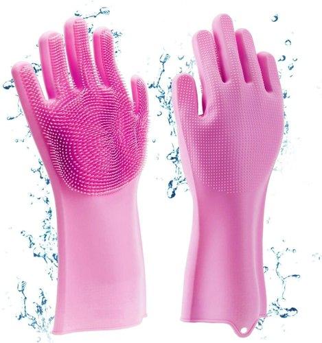 Silicone Dishwashing Hand Gloves
