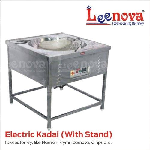 Electric Kadai with Stand
