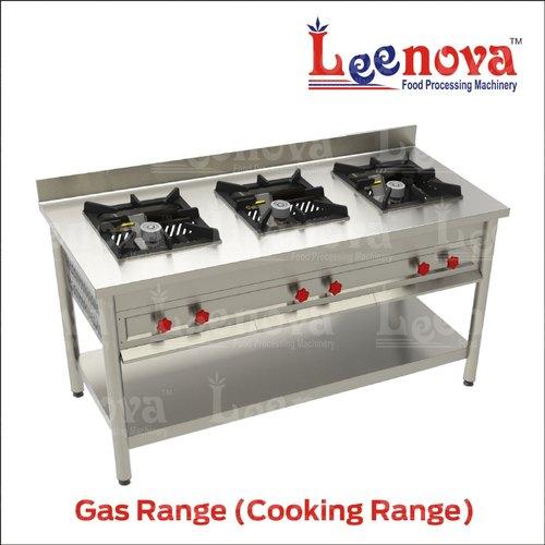 Three Burner Cooking Gas Range