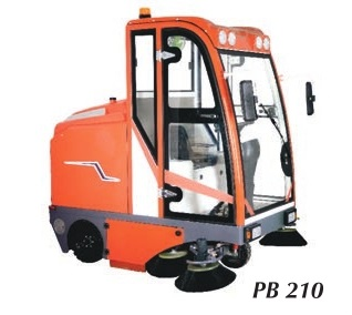 Ride On Road Sweeping Machine