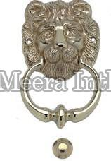 MI-131 Brass Lion Knocker