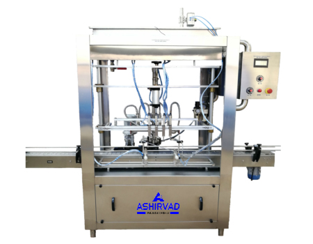 Automatic Flowmetric Lubricant Oil Filling Machine