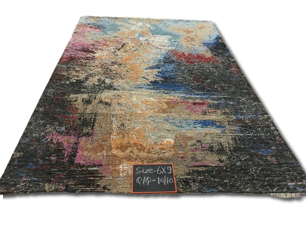 Hand Knotted Modern Design Carpets