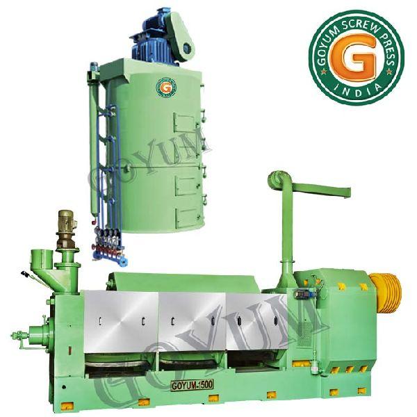 Canola Oil Expeller Machine