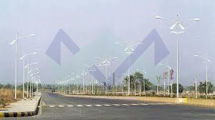 LED Street Light Pole