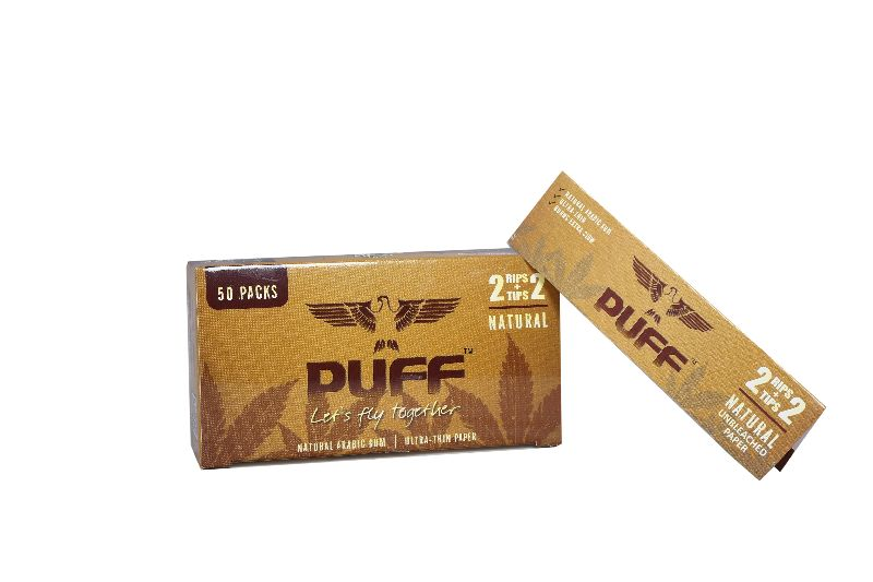 Puff Rolling Papers (Natural) (2+2)