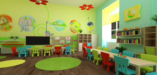 School Interior Designing Services