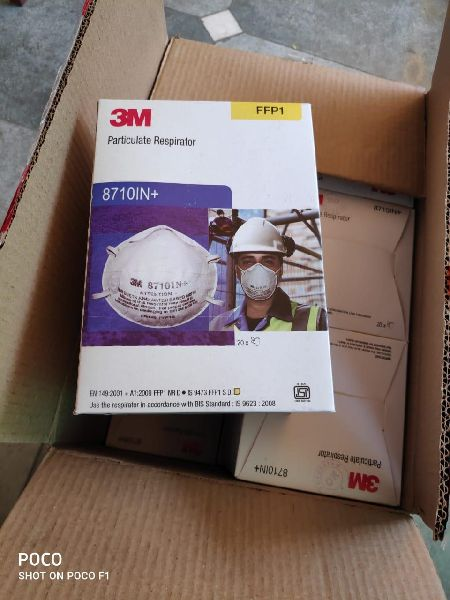 3M 8710IN Plus Face Mask