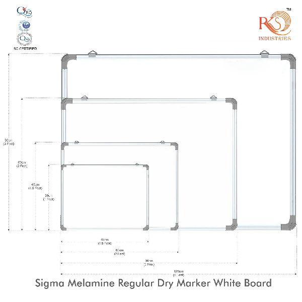 White Marker Board ( Non Magnetic )