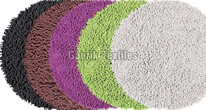Cotton Chenille Bath Mat
