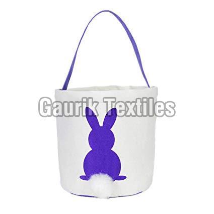 Printed Cotton Basket