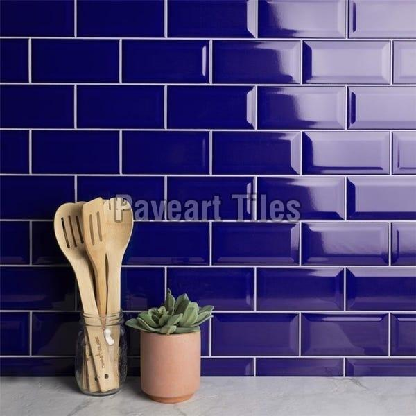 108 x 108mm Royal Blue Wall Tiles