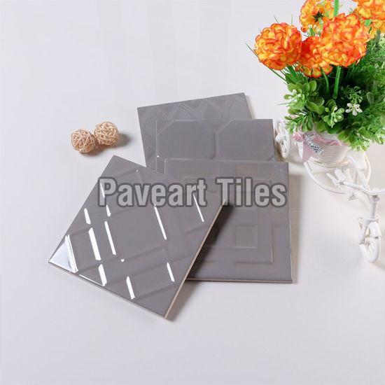 150 X 150mm Smoke Grey Wall Tiles