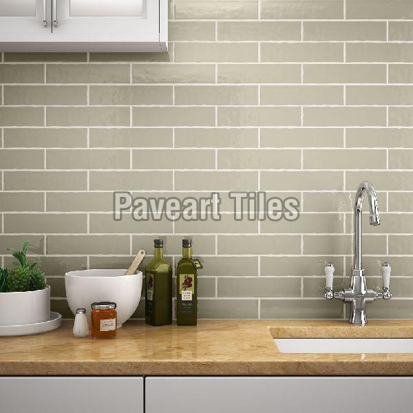 75 X 300mm Light Khaki Wall Tiles