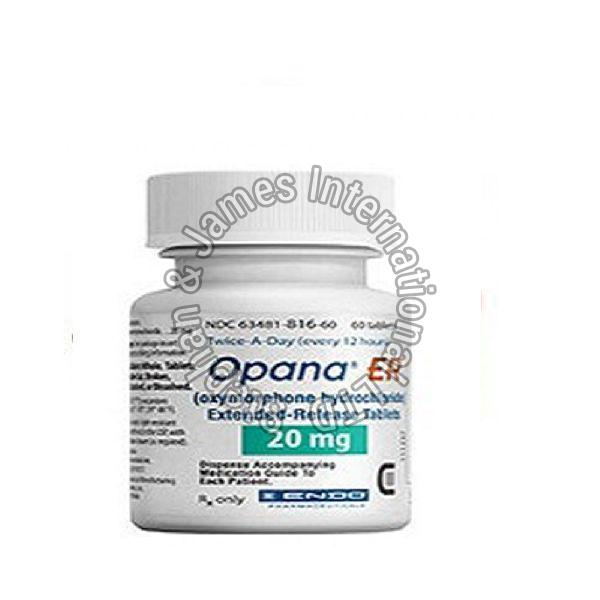 Opana 20mg ER Tablets