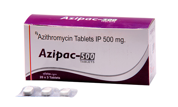 Azipac 500 mg Tablets