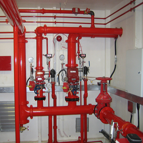 Fire Hydrant And Sprinkler System