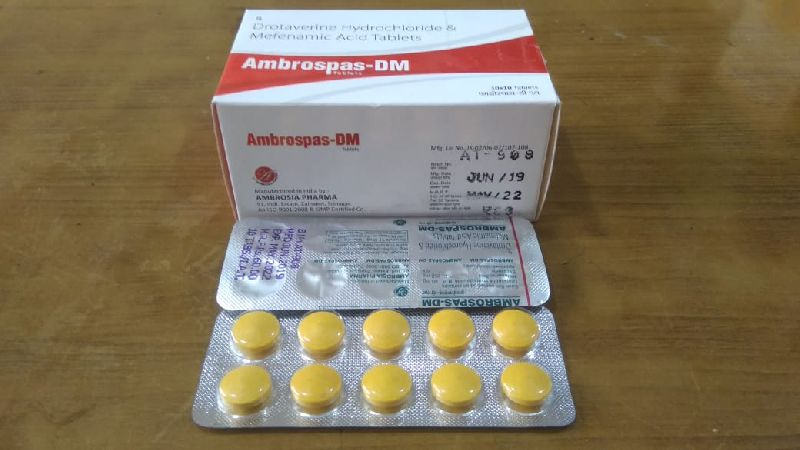 Ambrospas-DM Tablets