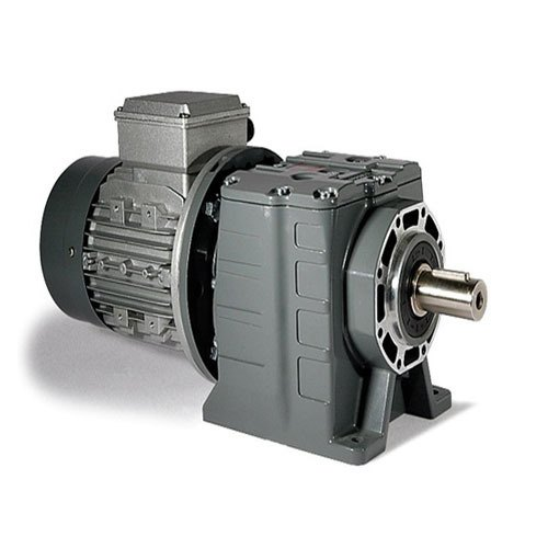 Two Stage Helical Geared Motor