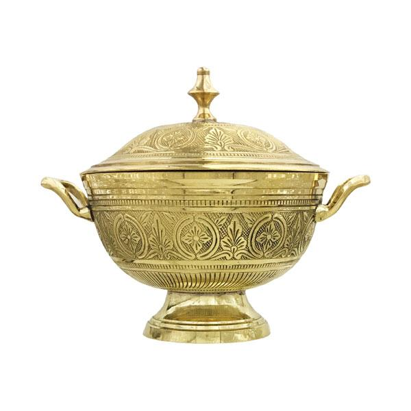 Brass Bowl with Lid