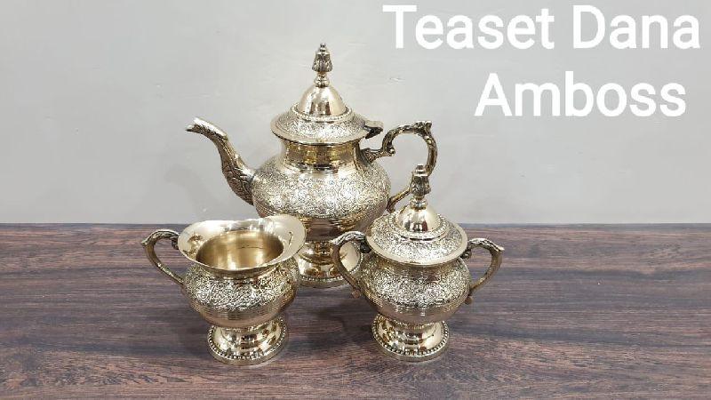 Brass Dana Amboss Tea Set
