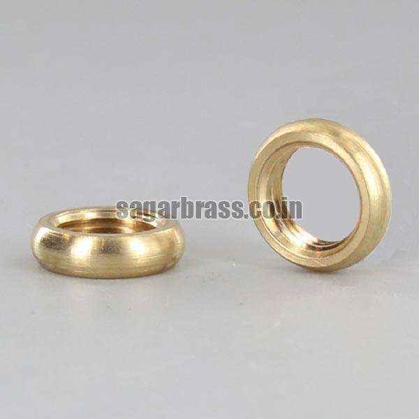Brass Beaded Nut