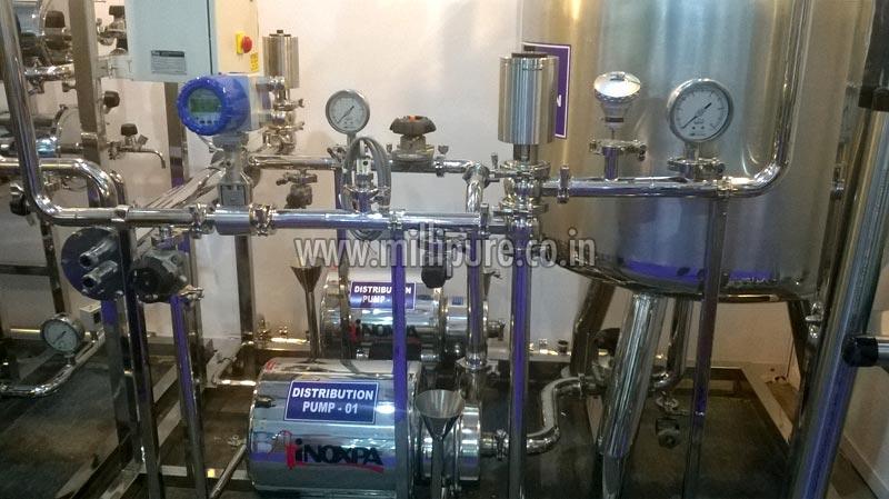 净化水分配系统