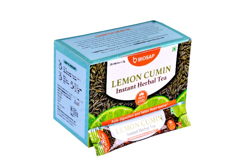 Lemon Cumin Instant Herbal Tea