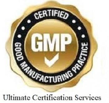 GMP Compliance Certification