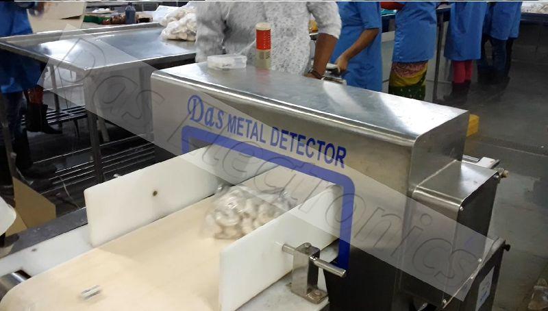 Frozen Seafood Metal Detector