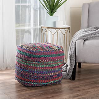 Braided Poufs and Stools