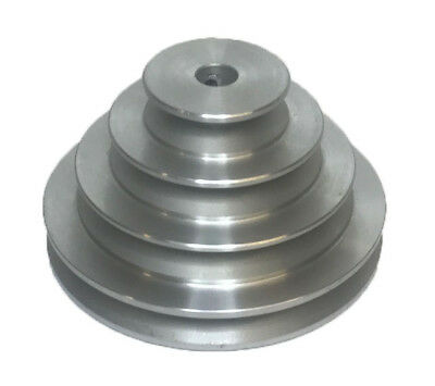 D Section Solid 2-3-4-5 Groove Pulley With H.NOB