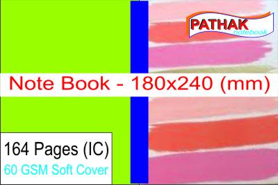 Writing Notebooks (180x240 mm)