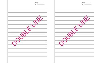Writing Notebooks (215x280 mm)